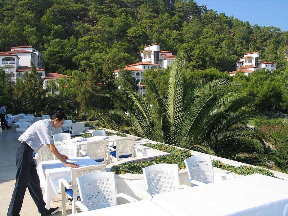 Hauptrestaurant Terrasse Kiriş World Hotel by Voyage  (geschlossen)