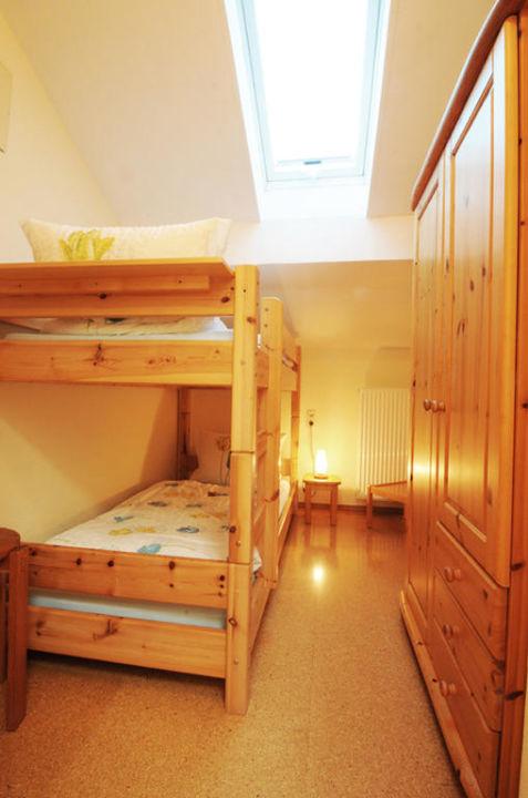 Das Kinderzimmer in der Ferienwohnung Roswitha. Wimmerhof Ising