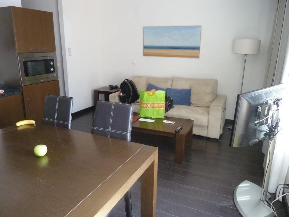 Wohnkuche Nur Ein Sofa Kein Sessel Aparthotel Pueblo Acantilado