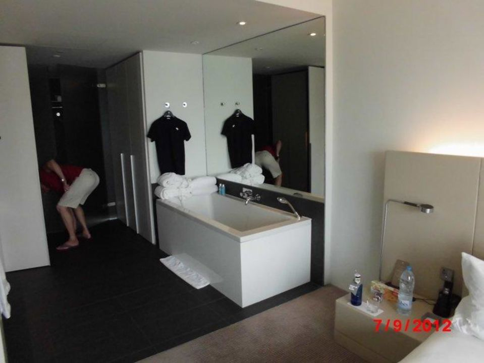 Badezimmer Ohne Trennwand Zum Schlafzimmer W Barcelona Hotel - Trennwand schlafzimmer