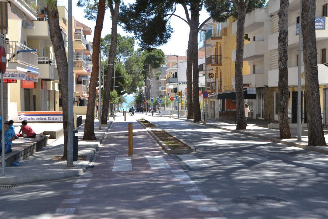 Weg zum strand smartline Millor Sol