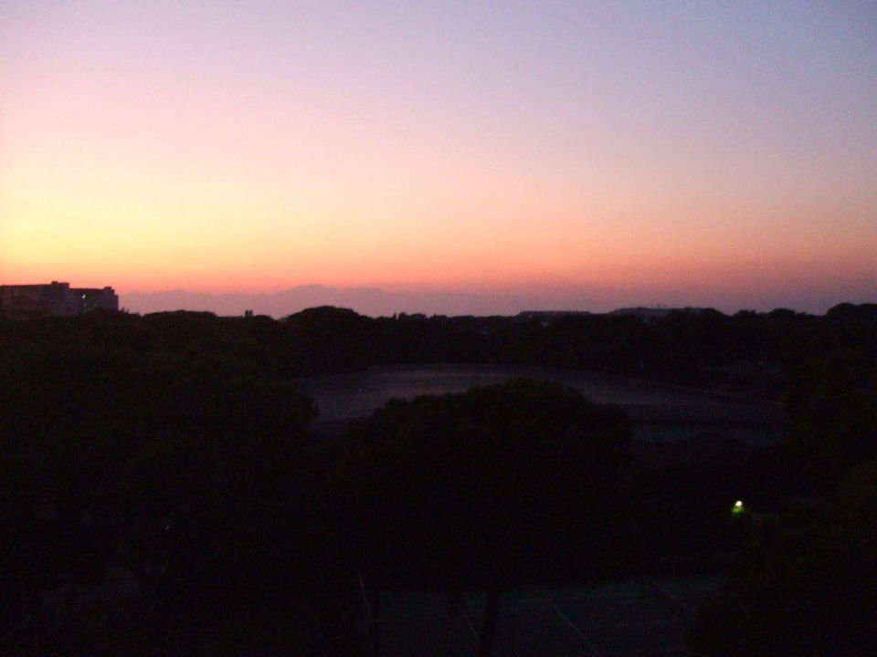 Der Sonnenuntergang Limak Atlantis De Luxe Hotel & Resort
