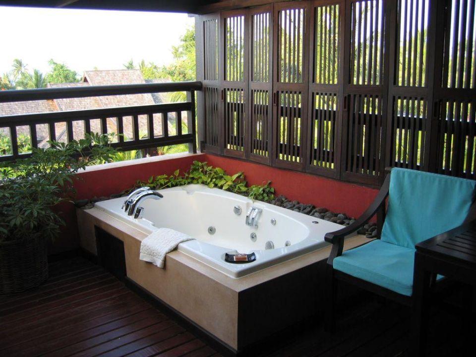 Balkon Mit Jacuzzi Bo Phut Resort Spa Bo Phut Holidaycheck