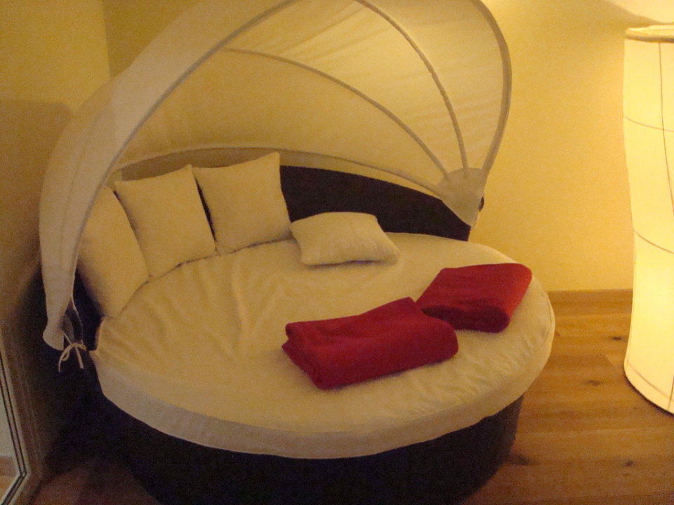 Ruheraum vor Sauna Luxury DolceVita Resort Preidlhof