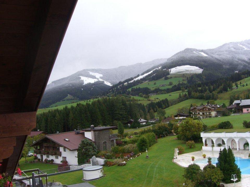 Schneefall innerhalb einer Nacht Hotel Krallerhof