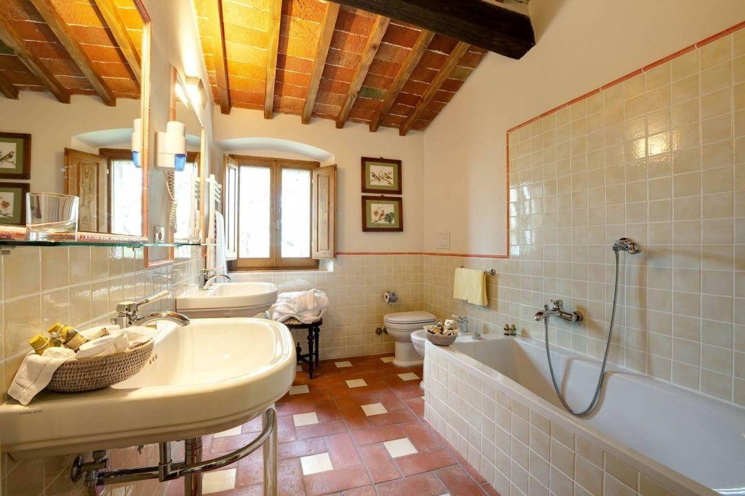 Bathroom Hotel Villa Le Barone