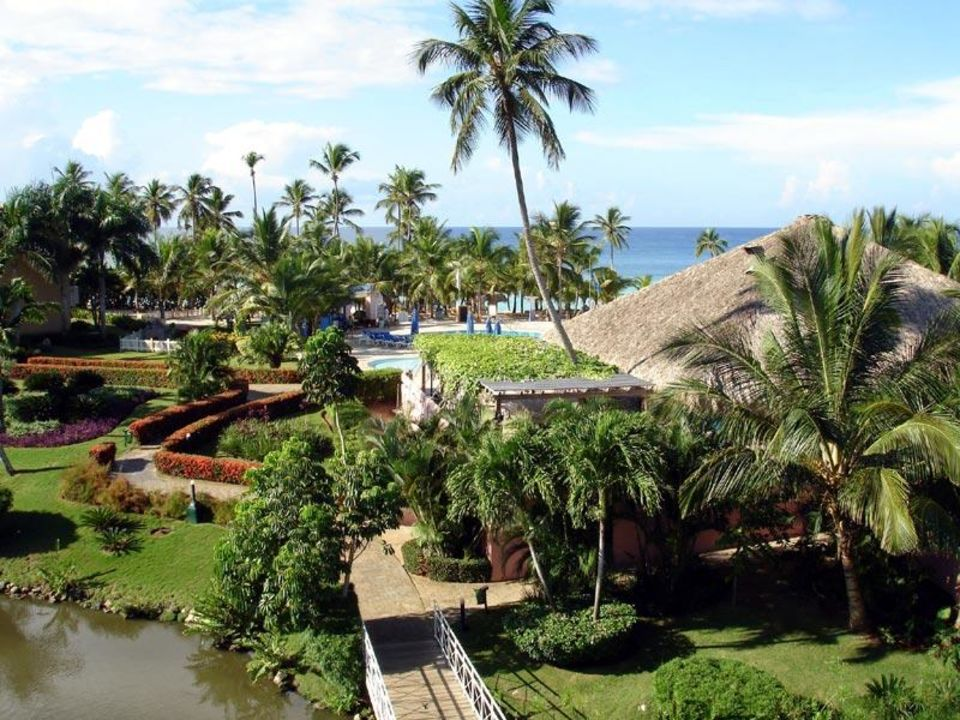 Blick Richtung Meer Hotel Viva Wyndham Dominicus Palace