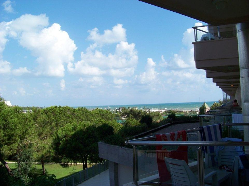 Blick vom Balkon (1095) Kaya Belek Hotel