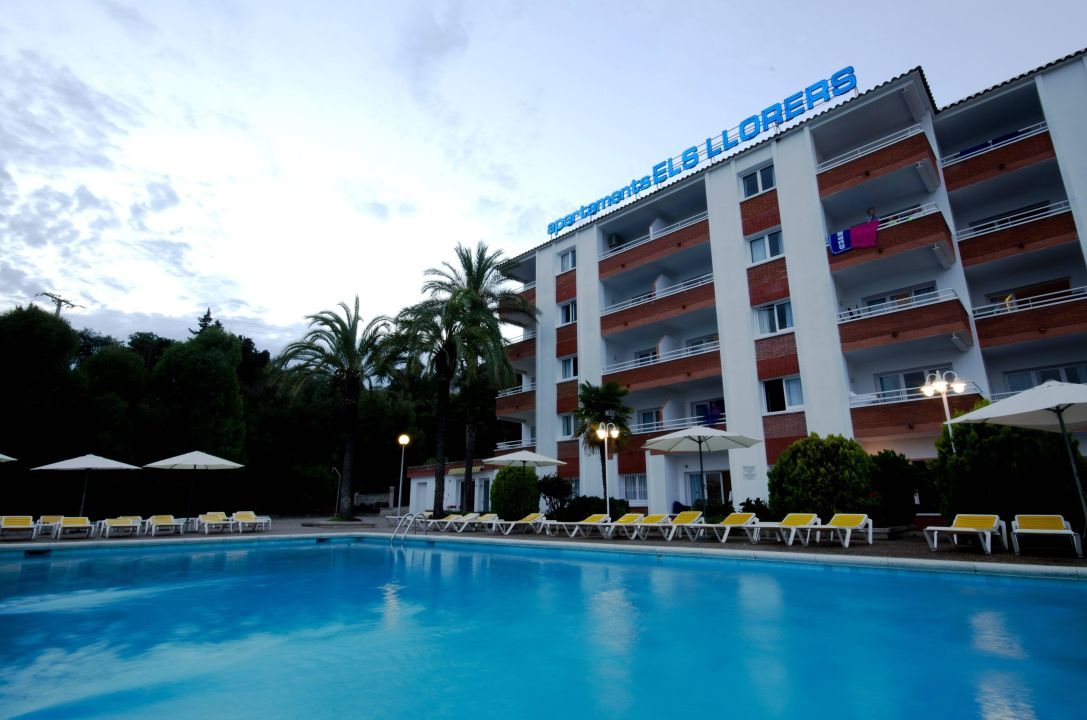 Piscina principal Hotel Els Llorers