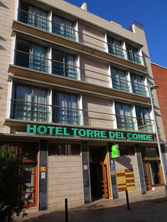 Außenansicht Hotel Torre del Conde