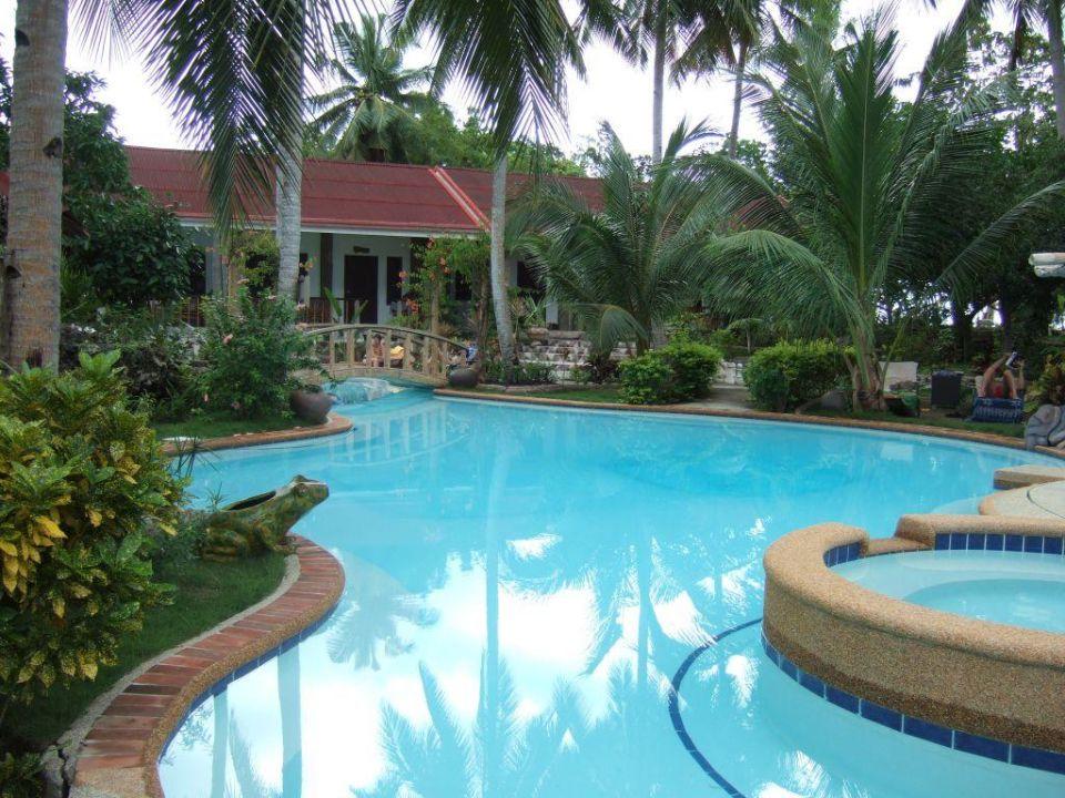 Poolanlage hotel polaris beach and dive resort cabilao - Sanom beach dive resort ...