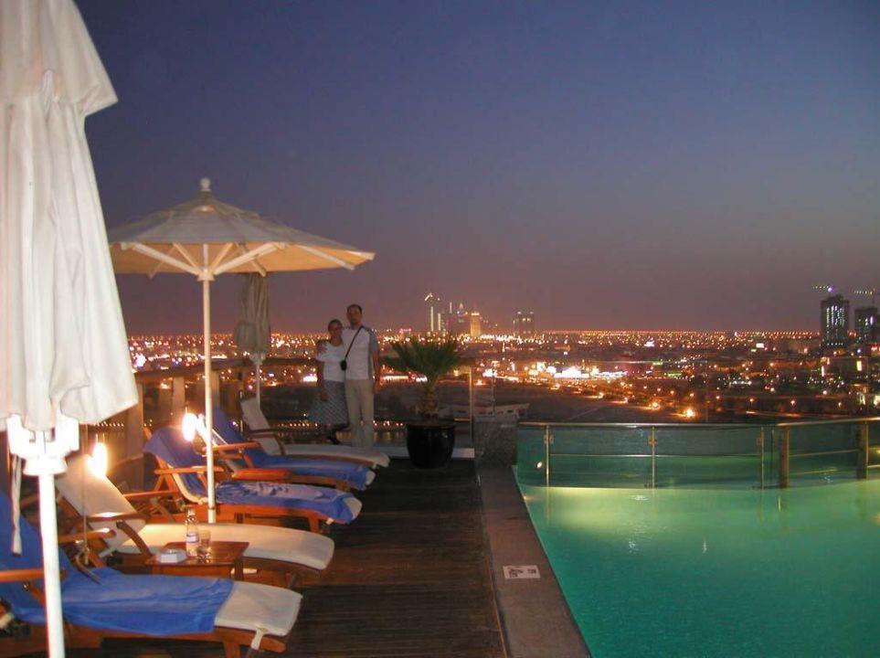 Dubai Hilton Creek auf dem Dach #7 Hilton Dubai Creek