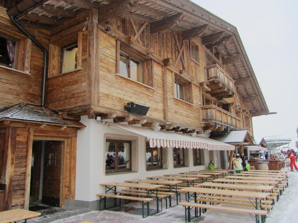 Hotel von vorne Piz Seteur