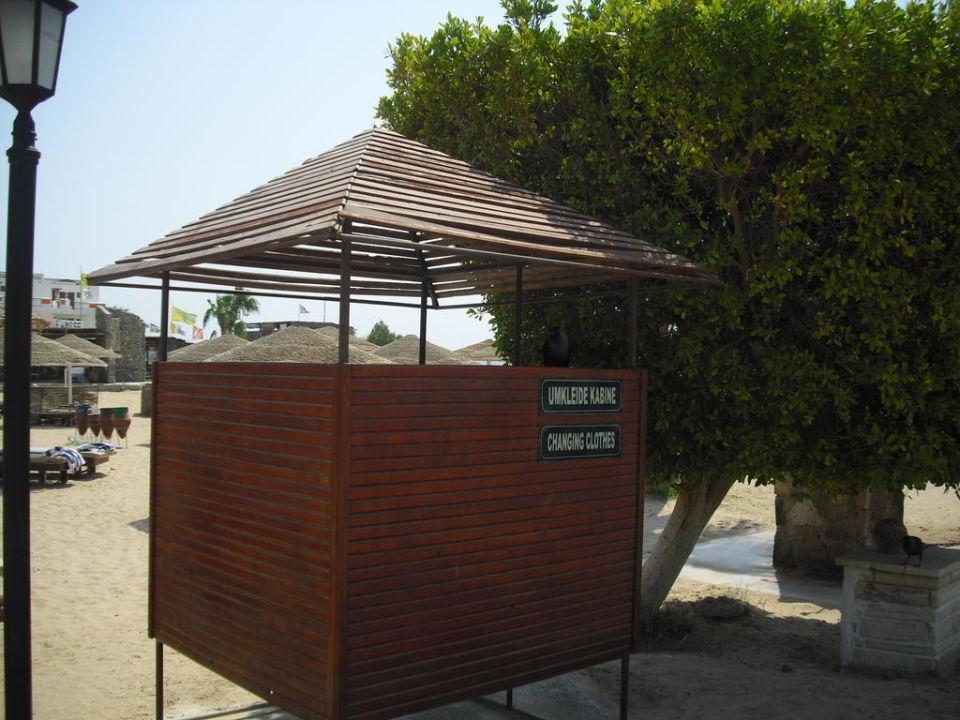 Umkleidekabine Sol Y Mar Hotel Paradise Beach