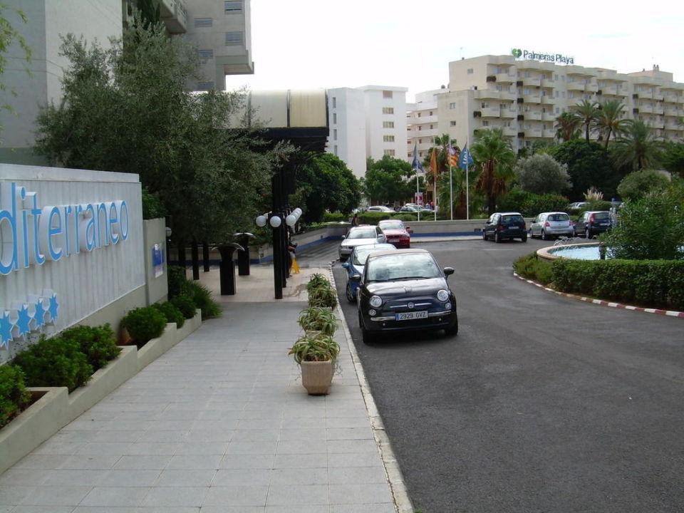 Außenansicht Hotel Blau Mediterrano Hipotels Mediterraneo - Adults only