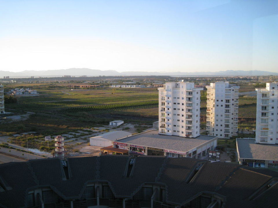 Blick nach Hinten Hotel Limak Lara de Luxe