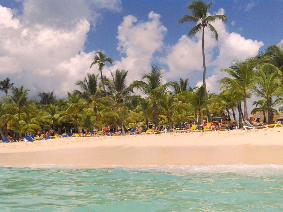 Sauberer Strand Hotel Viva Wyndham Dominicus Beach