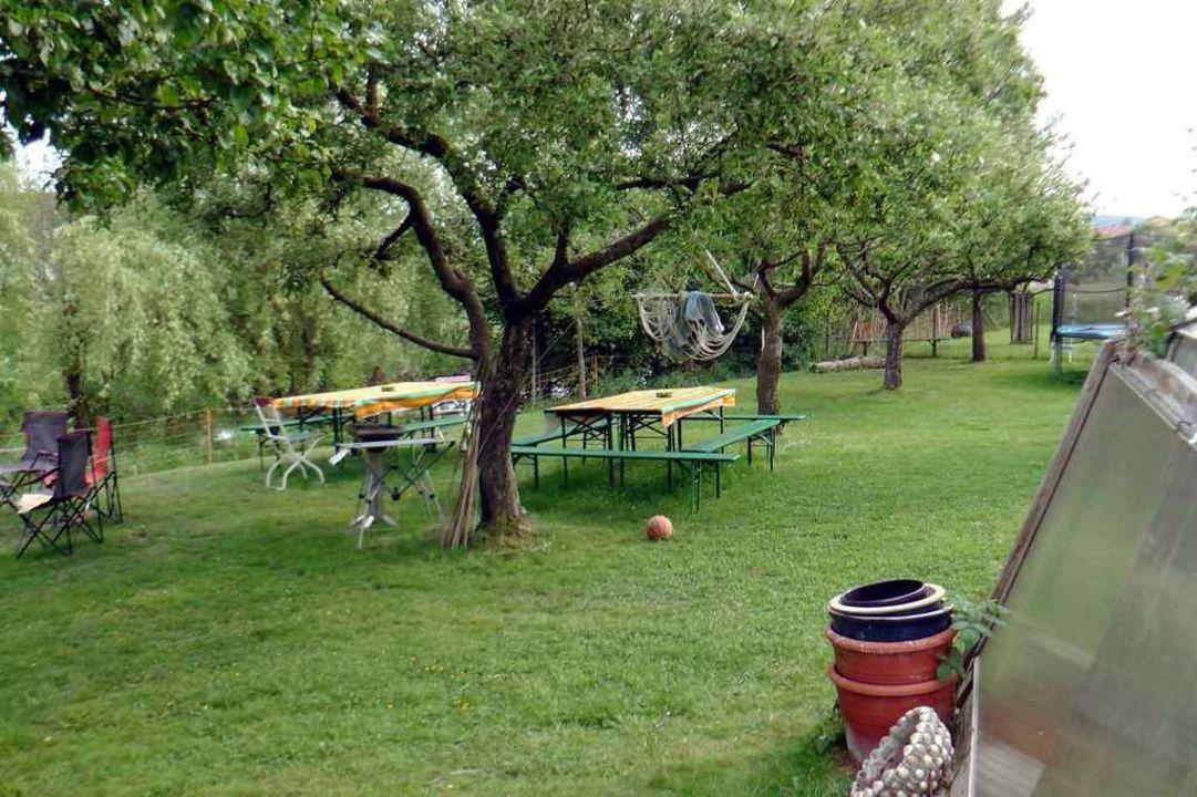 Gartendetails Ferienhof Kaiser