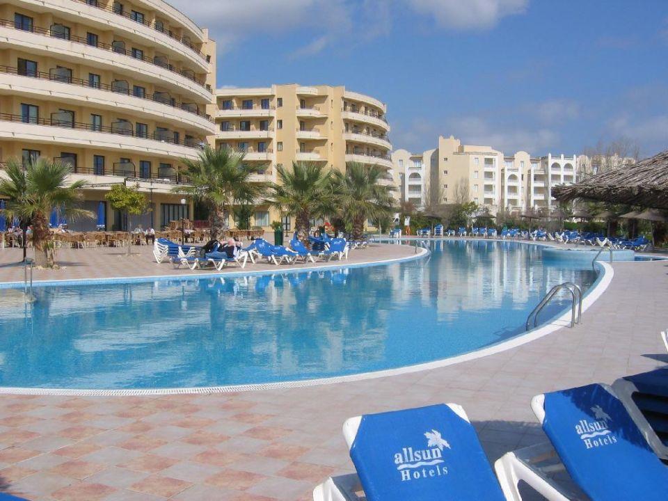 Poolanlage Allsun Hotel Orient Beach