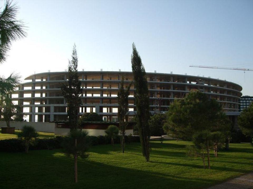 Baustelle neben dem Hauphaus Teil A Voyage Belek Golf & Spa