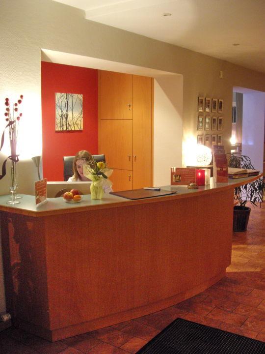 Rezeption City Partner Hotel Gewürzmühle