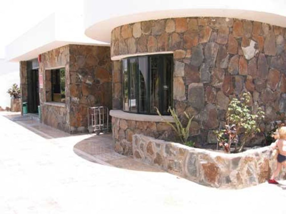 Hauptgebäude mit Rezeption Hotel Maspalomas Lago