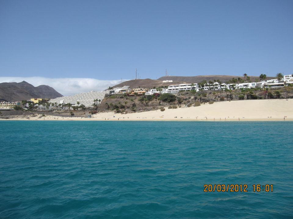 Strandansicht vom Boot IBEROSTAR Playa Gaviotas