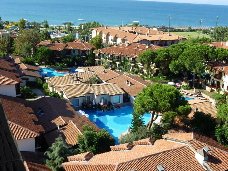 Der Ausblick vom Turm Paloma Grida Resort & Spa Hotel
