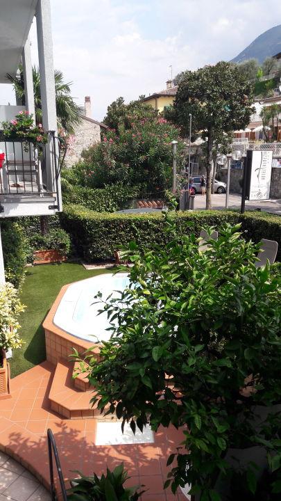 Gartenanlage Hotel Venezia