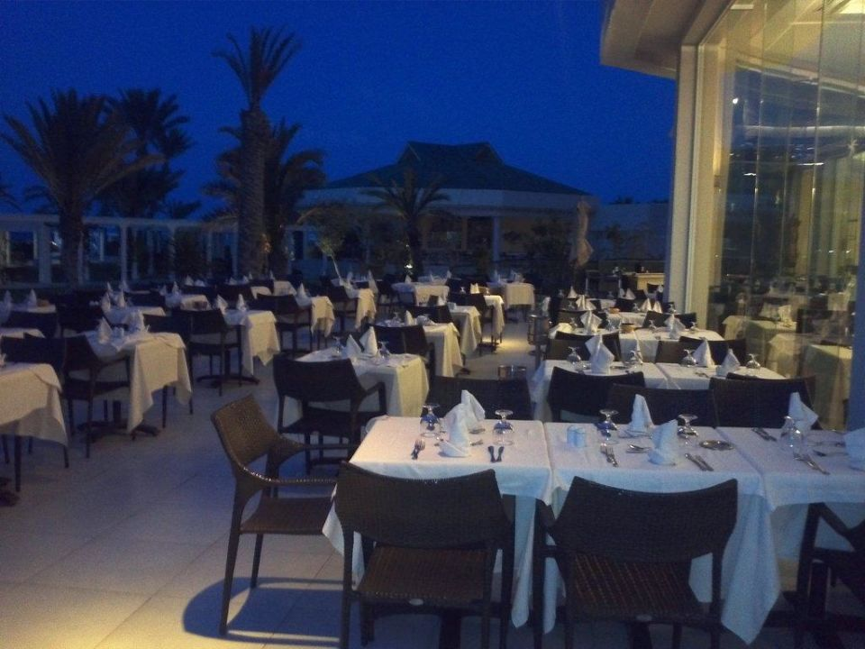 Zum draußen sitzen Iberostar Selection Royal El Mansour