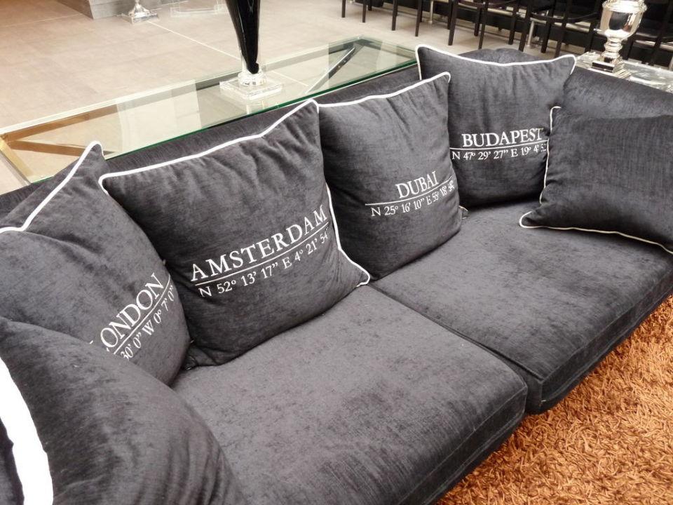 Gemütliche Sofas Im Eingangsbereich Alta Moda Fashion Hotel