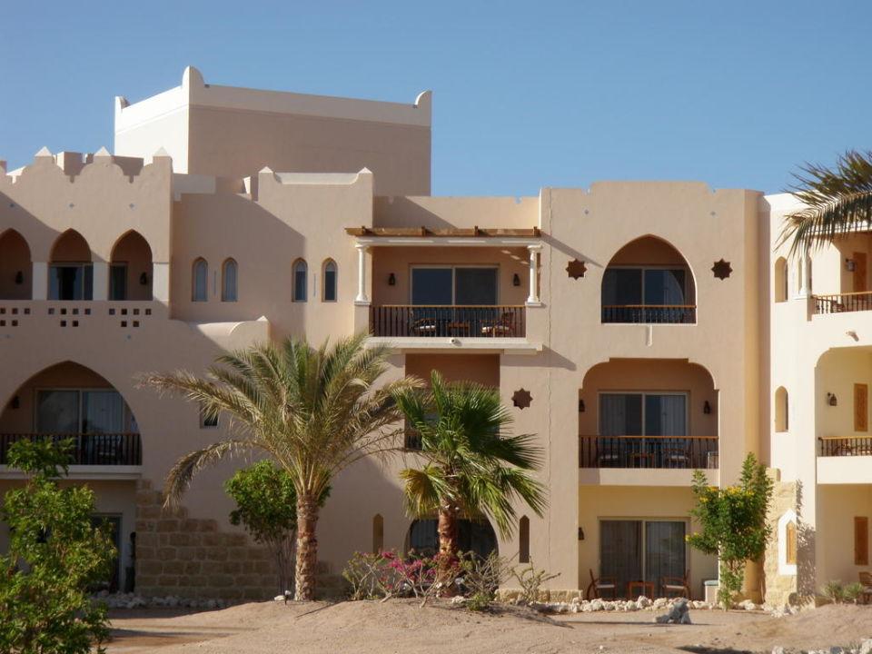 Blick auf die Meerblickzimmer Hotel Kempinski Soma Bay