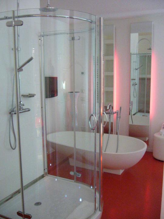 Dusch-/Badebereich Hotel Riviera Golf Resort