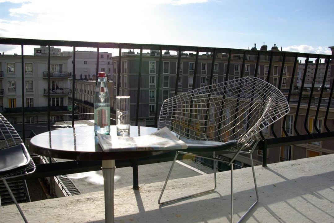 Chambre avec balcon Hôtel le Marly le havre centre
