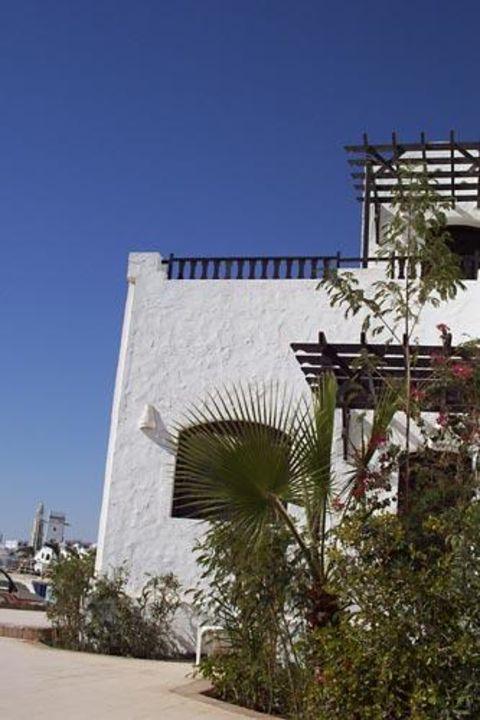 Die Gartenanlage des Iberotel Arabella Arabella Azur Resort