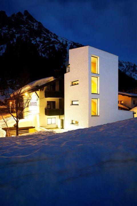 Das Familienhotel Mateera in Gargellen - Winter Familienhotel Mateera