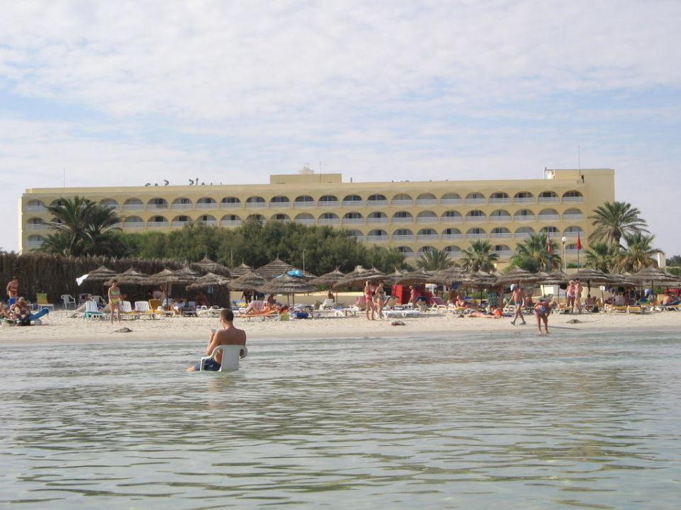 Auch im Meer kann man gut sitzen SunConnect One Resort Monastir