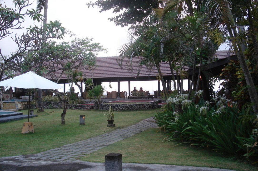 Aussicht vom Beachbungalow Hotel Peneeda View