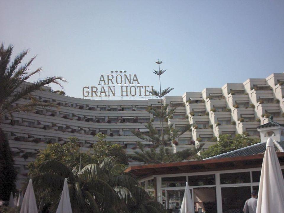 Arona Gran vom Pool aus aufgenommen Arona Gran  Hotel & Spa