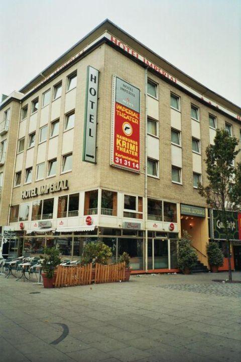 Hotel direkt an der reeperbahn hotel imperial hamburg in for Coole hotels in hamburg