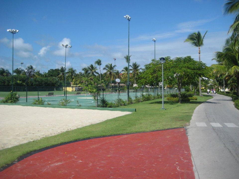 Sportplätze Grand Palladium Bávaro Suites Resort & Spa