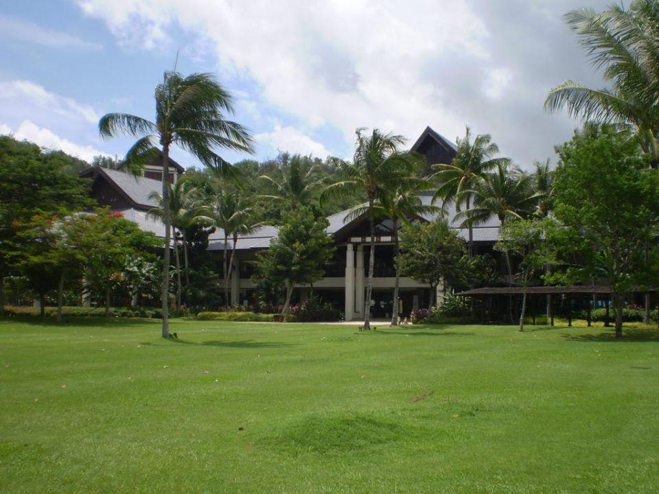 Außenbereich Hotel Shangri-La Rasa Ria Resort