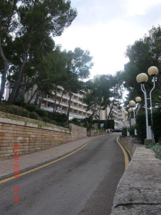 Nebenstraße zum Hotel Grupotel Gran Vista & Spa
