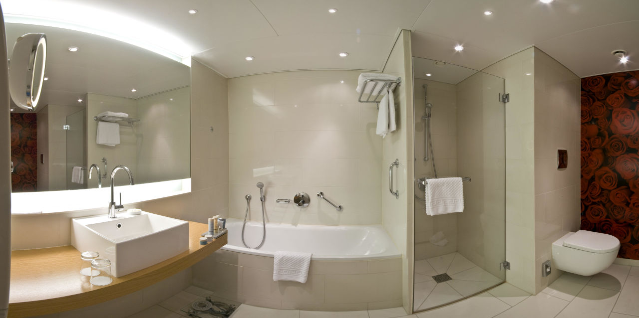 Executive Suite: Badezimmer\