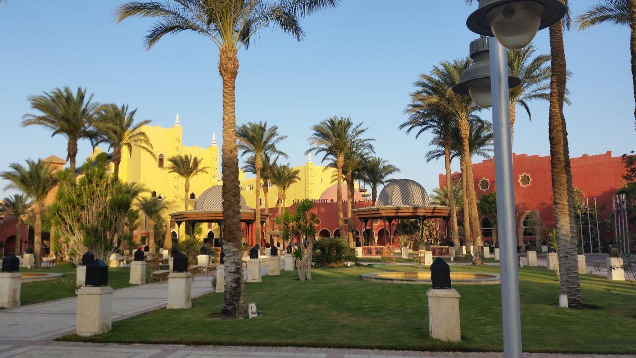 eingang the grand resort hurghada holidaycheck hurghada safaga gypten. Black Bedroom Furniture Sets. Home Design Ideas