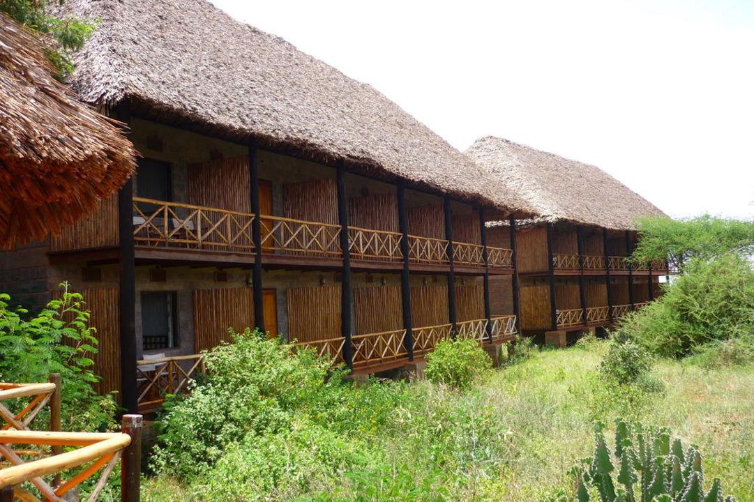 Wohntrakt Ngutuni Safari Lodge