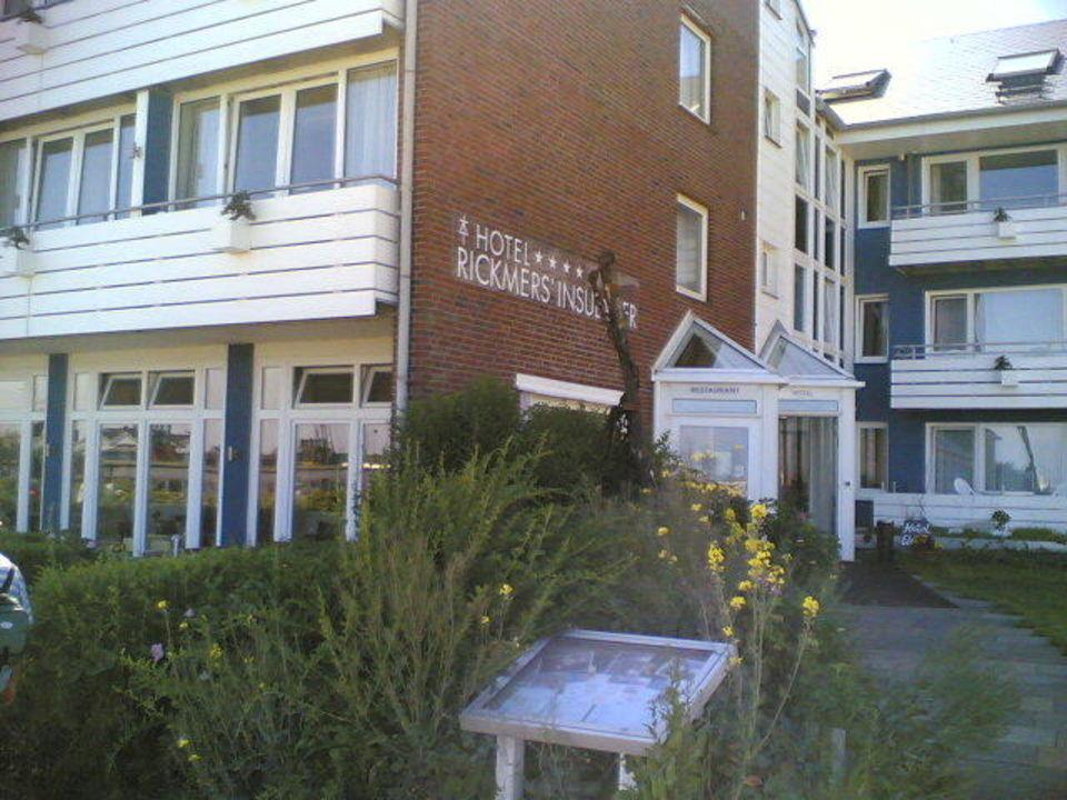 Aussenansicht Hotel Rickmers Insulaner