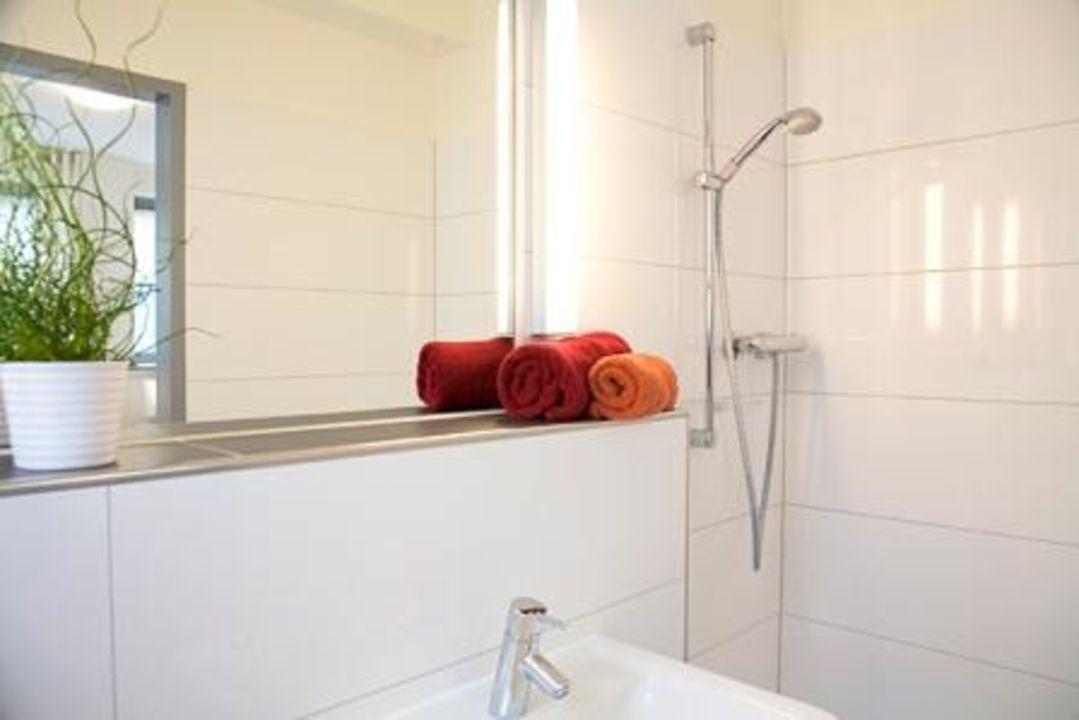 Badezimmer - Dusche offen begehbar\