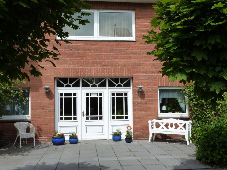 """""""Eingang"""" Hotel garni Haus Jensen Wyk auf Föhr"""
