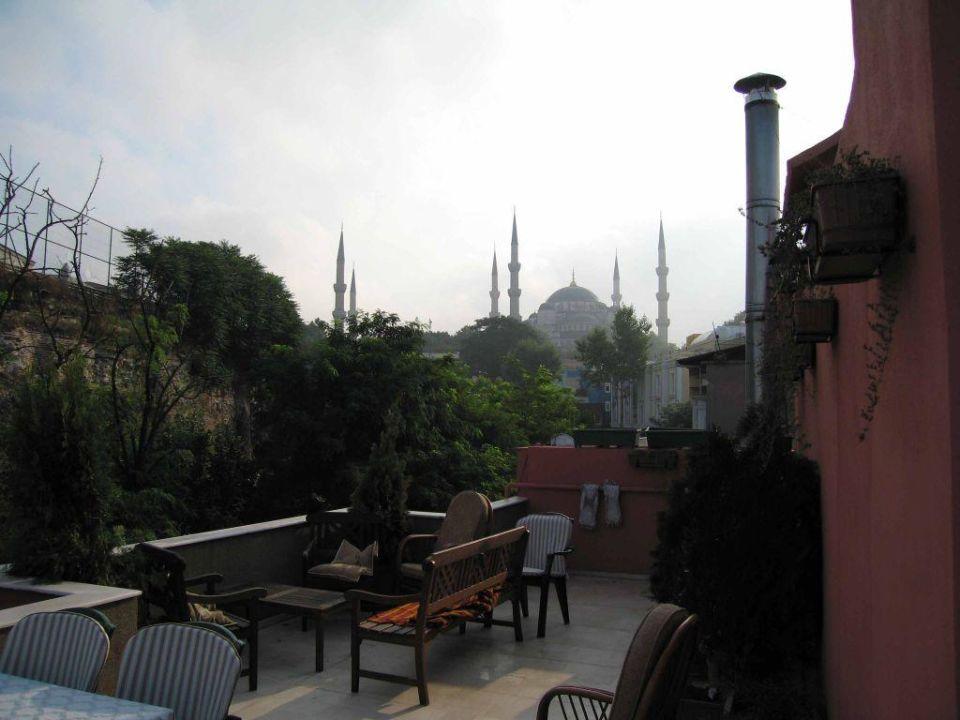 Hotel Erguvan, Dachterrasse Hotel Erguvan